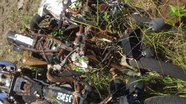 Veículos Reciclagem / Honda / Cg 125 / RASPADO S/ NUM ID / JC25ESS83070