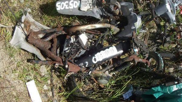 Veículos Reciclagem / Suzuki / An125 burgman / RASPADO S/ NUM ID / F472BR104047