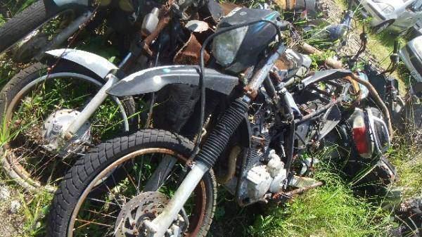 Veículos Reciclagem / Yamaha / Xtz 250 lander / CORROIDO FERRUGEM / RASPADO S/ NUM ID