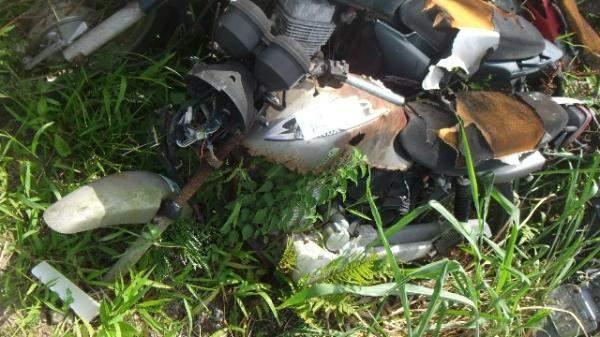 Veículos Reciclagem / Honda / Cg 125 / CORROIDO FERRUGEM / JC30E2Y034081